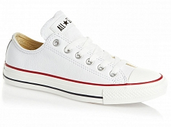 Converse Chuck Taylor All Star Ox Leather White 132173C