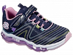 Skechers KIDS  S Lights Skech-Air Wavelength 84655L-NVMT