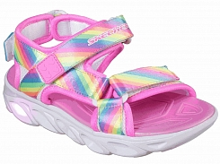 Skechers KIDS S Lights Hypno-Splash - Rainbow Lights sandal 20218L-MLT